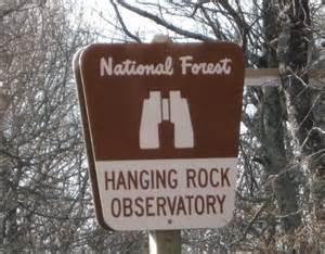 hanging rock raptor observatory 3 wv