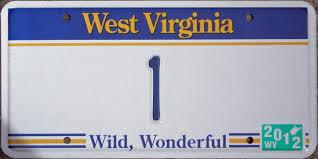 license plate 2 wv