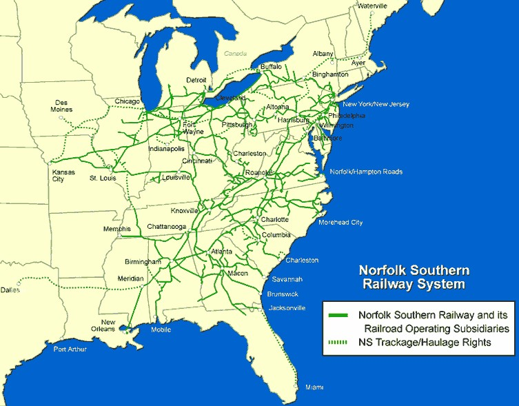 norfolk-southern-railway-system