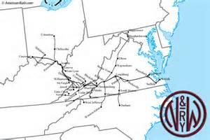 rail n & w map