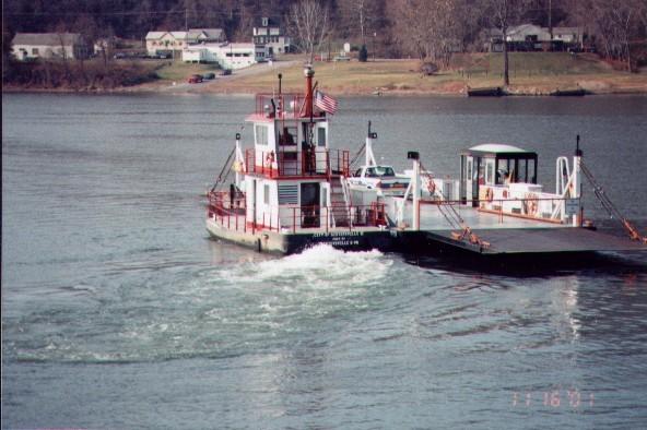 sistersville ferry 1