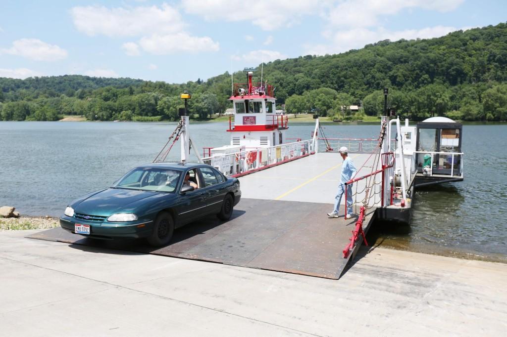 sistersville ferry 2