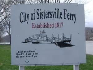 sistersville ferry logo