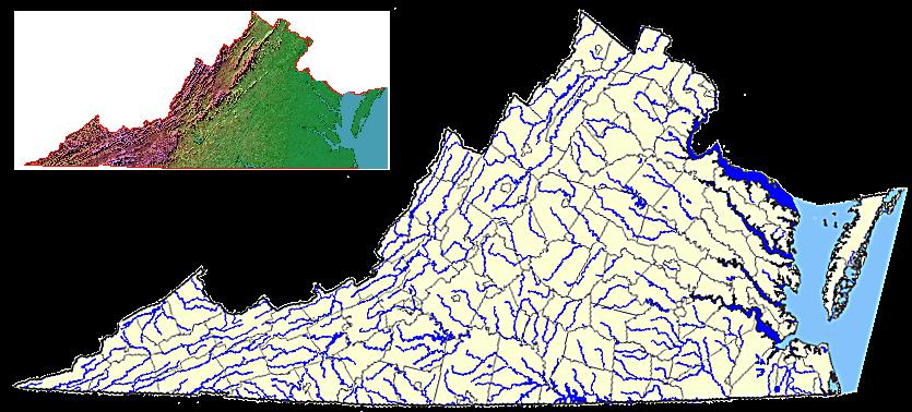 virginia map