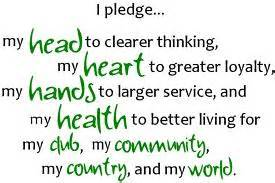 wv 4 h pledge