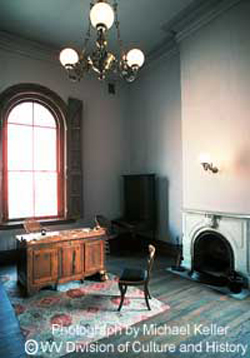 wv independence hall interior