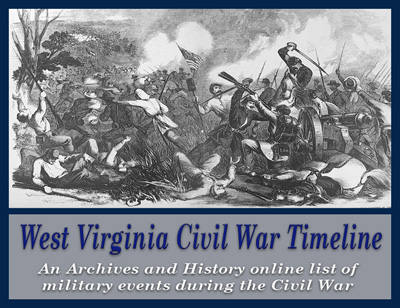 wv west virginia civil war timeline