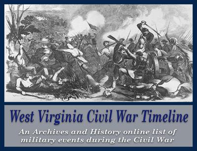 wv west virginia civil war timeline