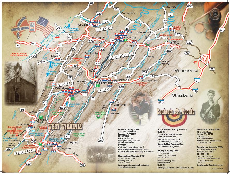 Civil War - WV - Statehood - MH3WV