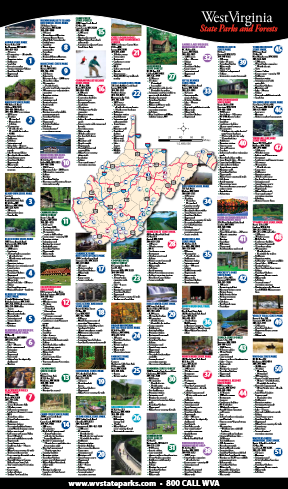 WV State Parks and State Forests - MH3WV West Virginia State